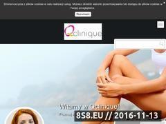 Miniaturka domeny www.q-clinique.pl