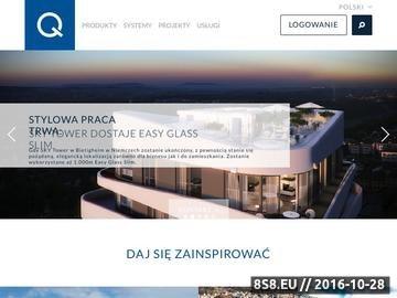 Zrzut strony Q-RAILING balustrady systemowe