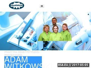 Zrzut strony Prywatny gabinet dentystyczno-protetyczny w Bydgoszczy