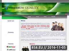 Miniaturka domeny quality.com.pl