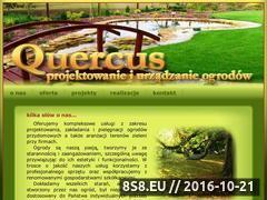 Miniaturka domeny www.quercus-ogrody.com.pl
