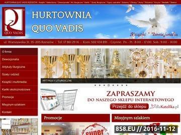 Zrzut strony QUO VADIS lektury szkolne