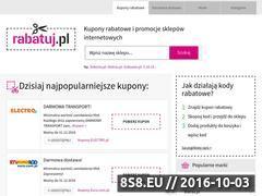 Miniaturka Kody rabatowe (rabatuj.pl)