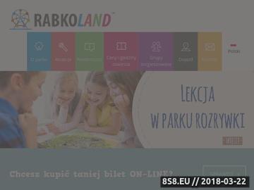 Zrzut strony Lunapark Rabkoland