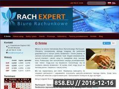 Miniaturka domeny www.rachexpert.pl