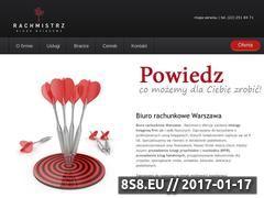 Miniaturka domeny www.rachmistrz.waw.pl