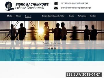 Zrzut strony Biuro Rachunkowe Łukasz Grochowski