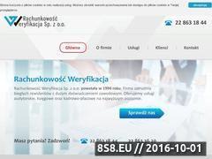 Miniaturka domeny rachunkowosc-weryfikacja.com.pl
