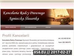 Miniaturka domeny radca-myslenice.pl