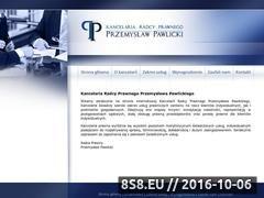 Miniaturka domeny www.radca-pawlicki.pl