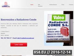 Thumbnail of Radiadores Conde - Taller para coches Website