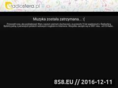 Miniaturka domeny www.radiosfera.pl