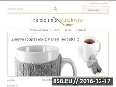 Miniaturka domeny www.radosnakuchnia.pl
