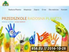 Miniaturka domeny www.radosnaplaneta.com