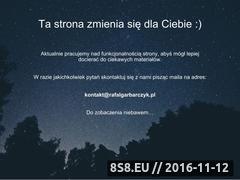 Miniaturka domeny rafalgarbarczyk.pl