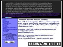 Miniaturka domeny www.rafbhp.zafriko.pl