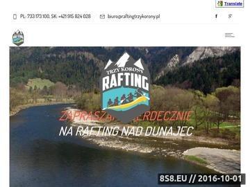 Zrzut strony Rafting Pieniny