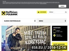 Miniaturka domeny raiffeisenpolbank.com