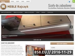 Miniaturka Szafy do zabudowy na miarę - Rajczyk (www.rajczyk.czest.pl)