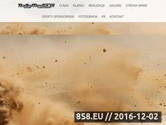 Miniaturka domeny www.rallymedia.pl