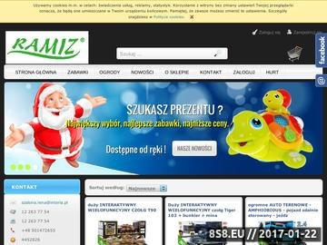 Zrzut strony Zabawki dla najmłodszych - Ramiz