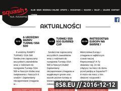 Miniaturka domeny www.rampasquash.pl