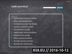Miniaturka domeny www.randki-serenada.pl