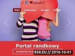 Miniaturka domeny randki7.pl
