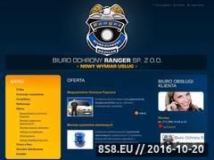 Miniaturka domeny ranger.com.pl