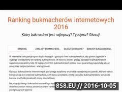 Miniaturka domeny ranking-bukmacherow.net