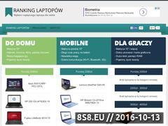 Miniaturka domeny www.ranking-laptopow.pl