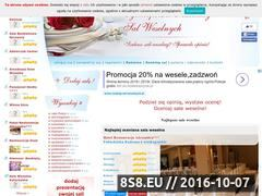 Miniaturka domeny www.ranking-sal-weselnych.pl