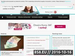 Miniaturka domeny rankinglokat.org.pl