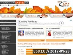 Miniaturka domeny www.rankingofe.pl
