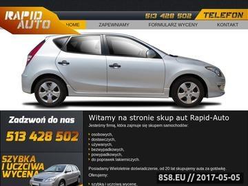 Zrzut strony Skup samochodów Wrocław