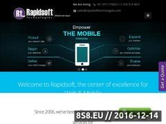 Thumbnail of Symbian Application Development Website