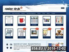 Miniaturka domeny www.rasterdruk.pl