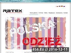 Miniaturka domeny www.ratex-jeans.pl