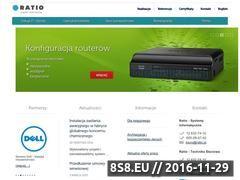Miniaturka domeny www.ratio.pl