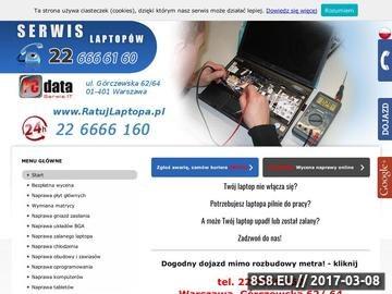 Zrzut strony Naprawa - serwis laptopów