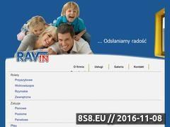 Miniaturka domeny www.ravin.pl