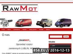 Miniaturka domeny rawmot.pl