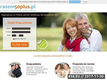 Zrzut strony Razem50plus.pl - serwis towarzyski dla osób po 50-ce. Forum 50 plus