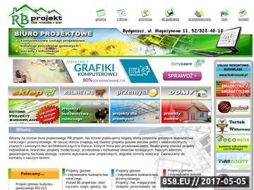 Zrzut strony RB projekt - Biuro projektowe Bydgoszcz