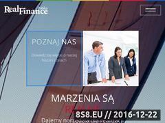 Miniaturka domeny www.realfinance.pl