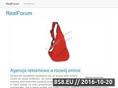 Miniaturka domeny www.realforum.pl
