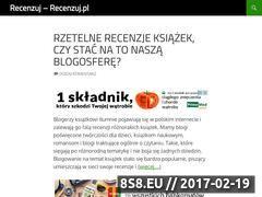 Miniaturka domeny www.recenzuj.pl