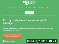 Miniaturka domeny recyclingcenter.pl