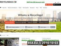 Miniaturka domeny www.recyclingo.com
