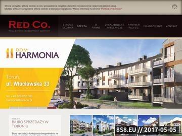 Zrzut strony Deweloperzy Bydgoszcz - RED Co.